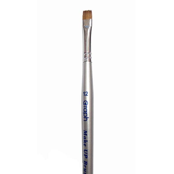 قلم موی آرایشی تخت مناسب طراحی ابرو و خطوط ضخیم تر گراف سایز 0
