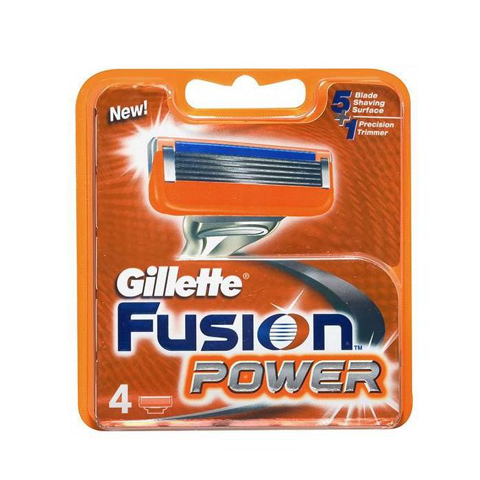 تیغ فیوژن پاور – Fusion Power 4s ژیلت