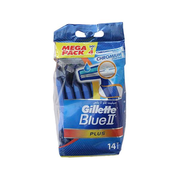 خود تراش 5 عددی ژیلت مدل Blue 2 Plus