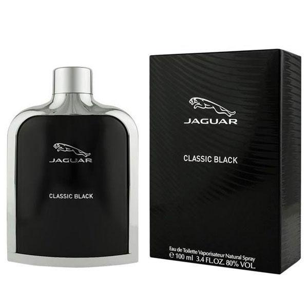 ادکلن کلاسیک جگوار مشکی 100 میل JAGUAR CLASSIC BLACK EDT 100 ML