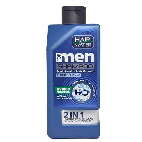 شامپو مردانه آبرسان و ضد شوره مناسب پوست سر حساس کامان 410 میل